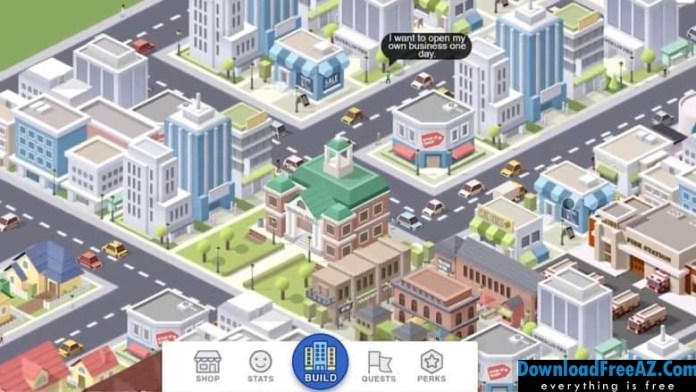 Download Free Pocket City + (Unlimited Money/Unlocked) for Android