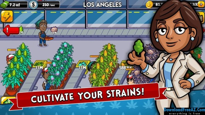 Download Free Weed Inc + (Mod Money/Gems/Free Shopping) for Android