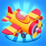Download Merge Plane Click & Idle Tycoon + (unlimited money) for Android