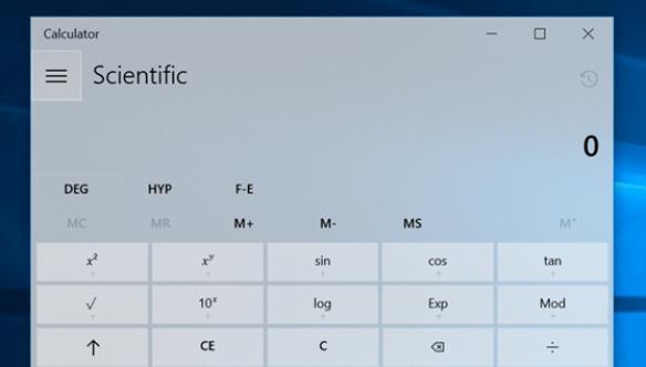 Use Windows 10 PC Programmer & Scientific Calculator