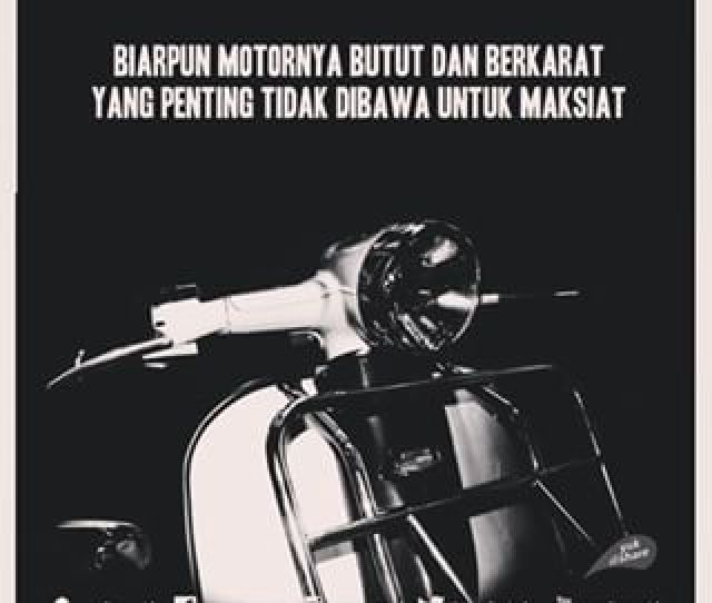 Caption Romantis Vespa