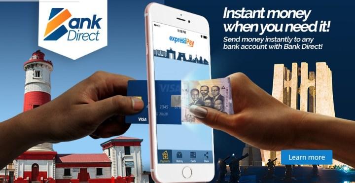 send money on ExpressGhana App