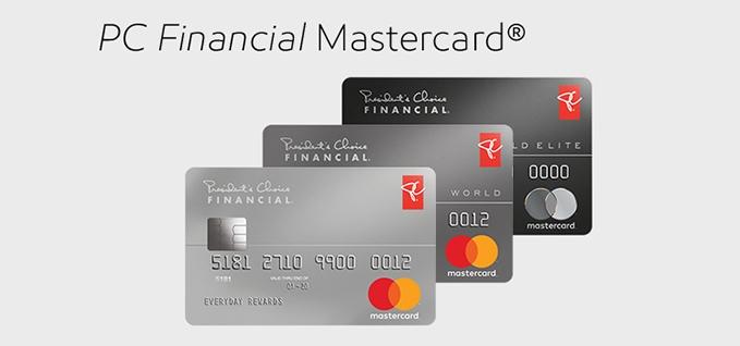 PC Financial Mastercard App