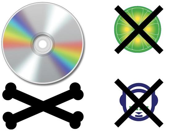 Spotify музыка: 1. Упадок музыкального пиратства