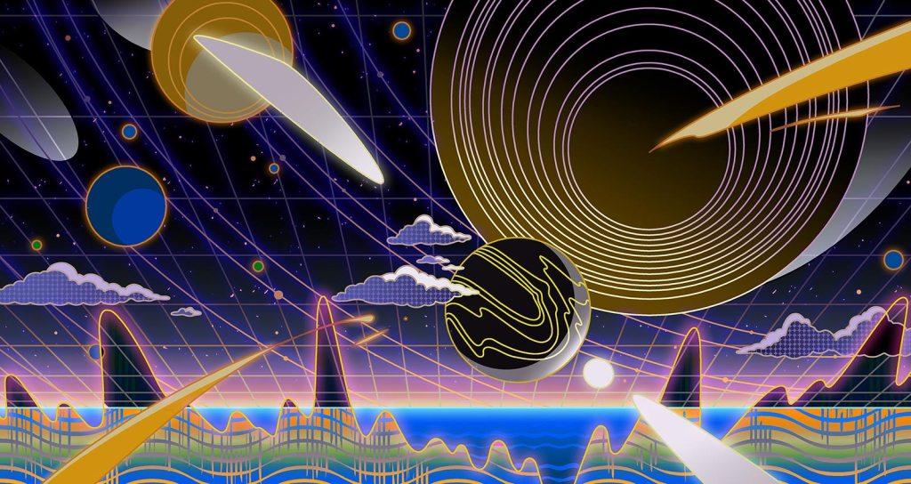 Электронная музыка про космос