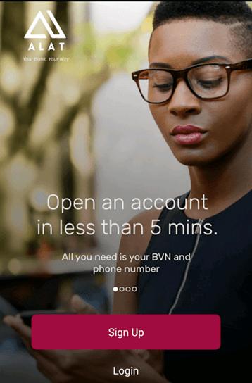 ALAT Digital Banking App By Wema Bank