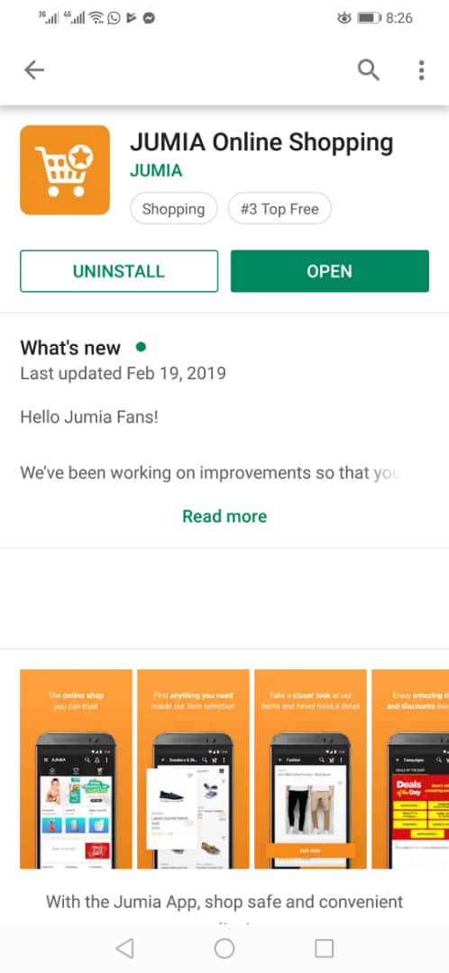 Download Jumia App