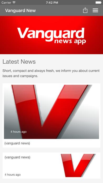 Download Vanguard Newspaper App