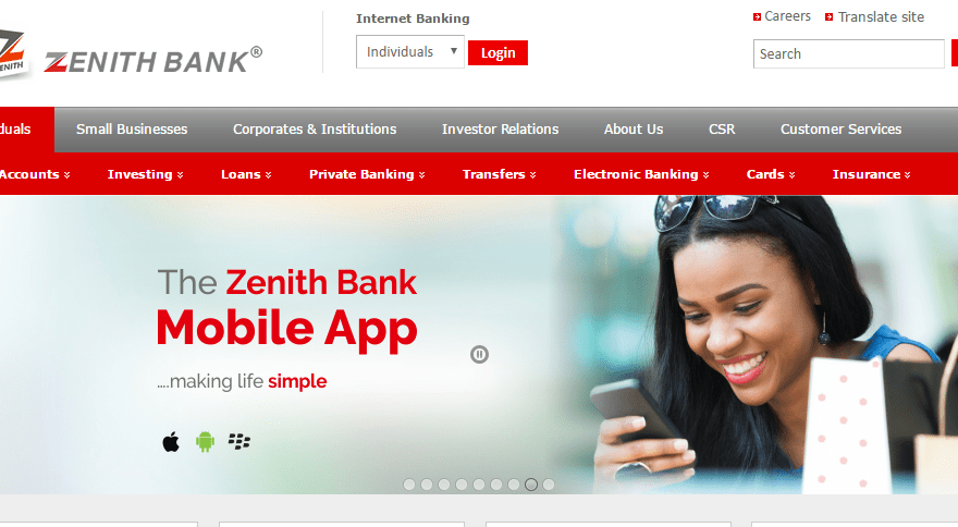 Download Zenith Bank Mobile App For Android