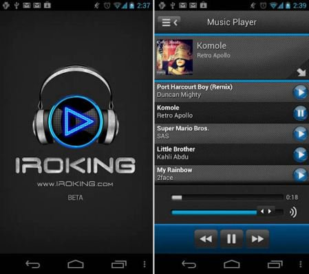 Download iROKING App For Music, Songs