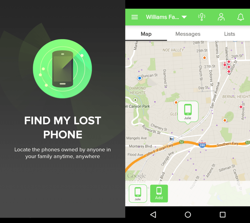 Find My Lost Android Phone Location