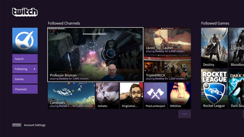 Twitch Android App For Live Mobile Streaming