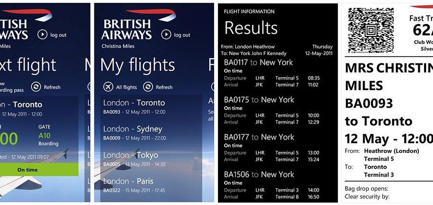 Download British Airways Mobile App Download
