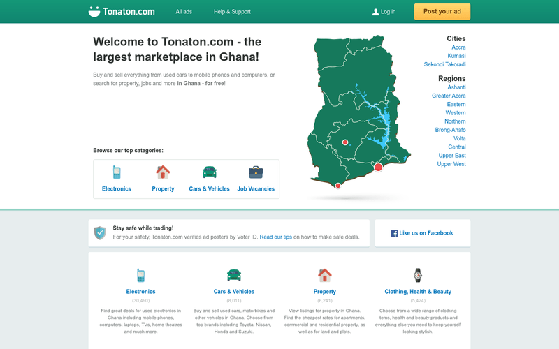 Download Tonaton Ghana App For Android