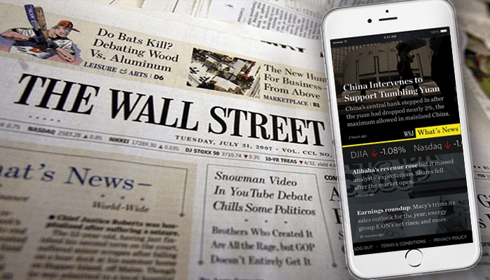 Wall Street Journal App For Android