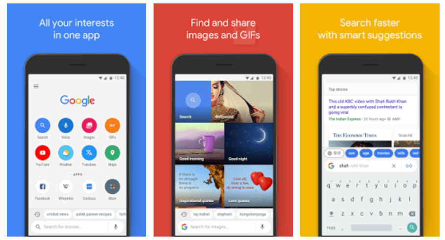 Get Google Go Mobile App, Search Faster & Save Browsing Data