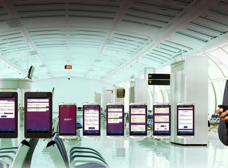 Download Arik Airline Mobile App