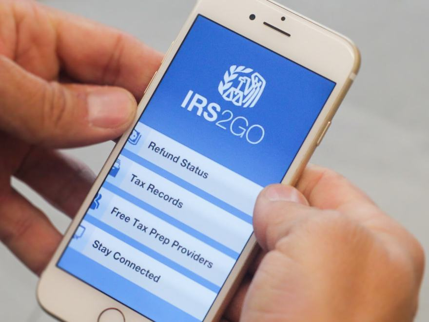 Download IRS2GO App for Android and iPhone