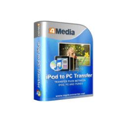 4Media iPod to PC Transfer Crack logo