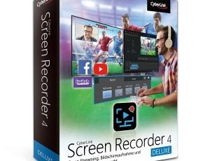 CyberLink Screen Recorder Deluxe 4.2.5.12448 Crack + Key Free Download