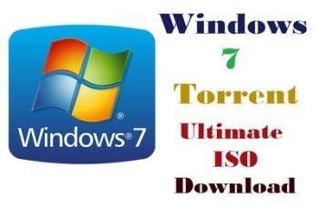 Windows 7 Torrent Ultimate ISO File Download