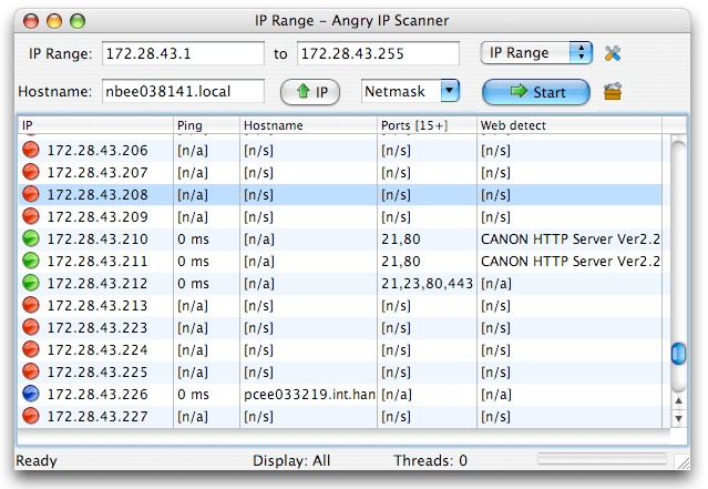 Angry IP Scanner for Mac PC