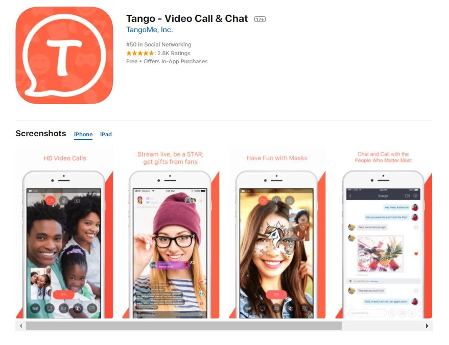 How to download Tango On iOS