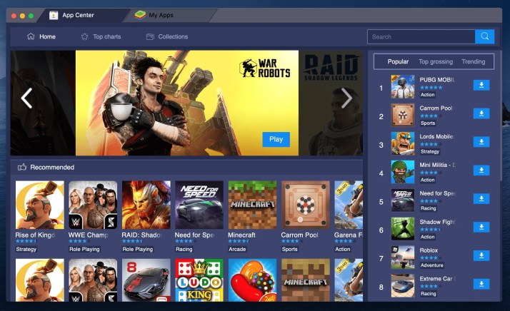 BlueStacks on Mac