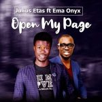Open My Page By Julius Etas feat. Ema Onyx mp3