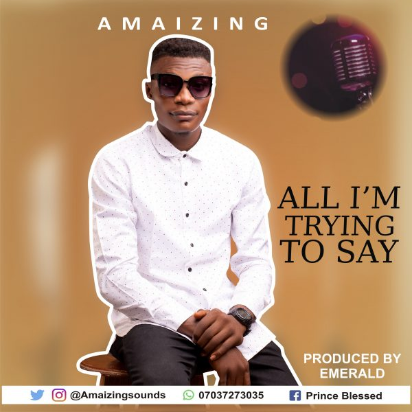 All I'm Trying To Say By Amaizing mp3