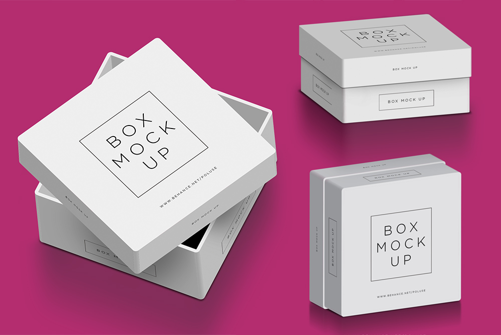 Download Box Mockup Free PSD - Download PSD