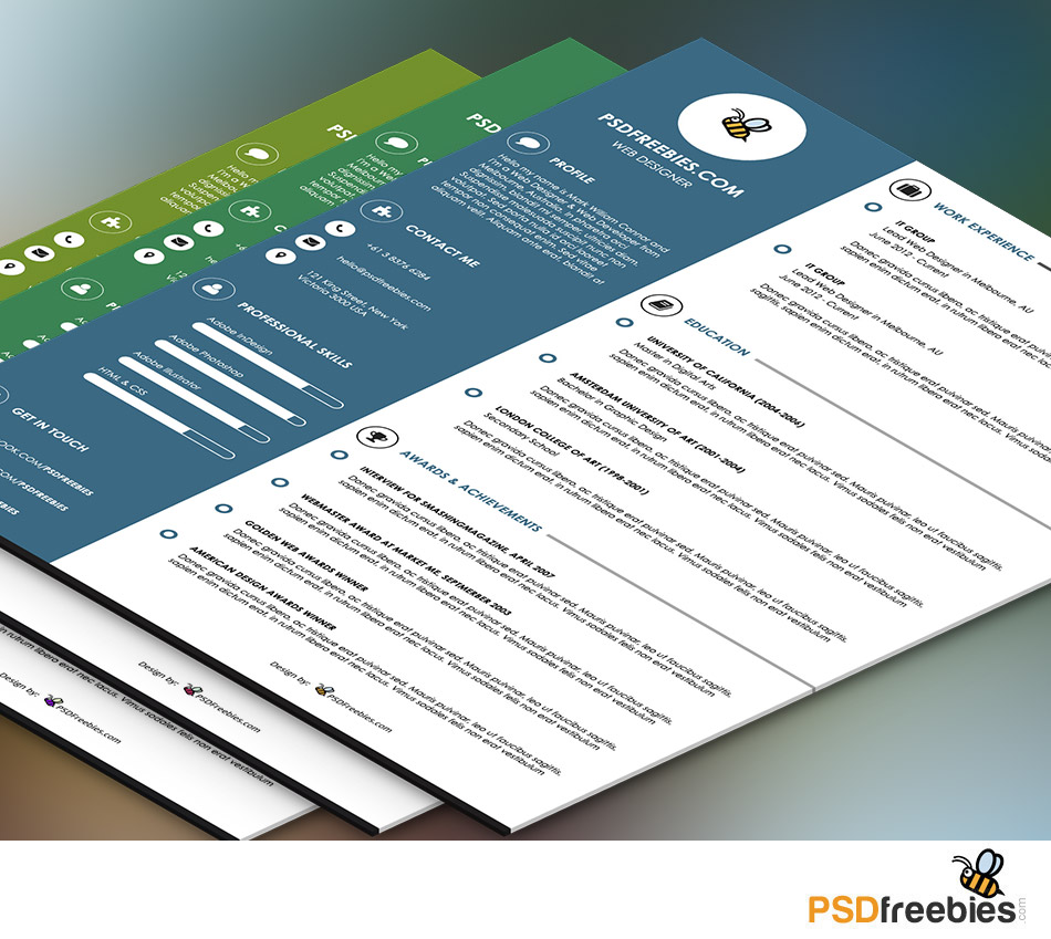 Resumes Templates Free  Sample Combination Resume Template Lovely     Best Free Resume Cv Templates Psd Download Download Psd