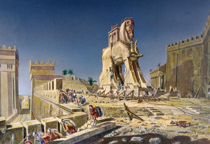 People Horse Trojan Inside