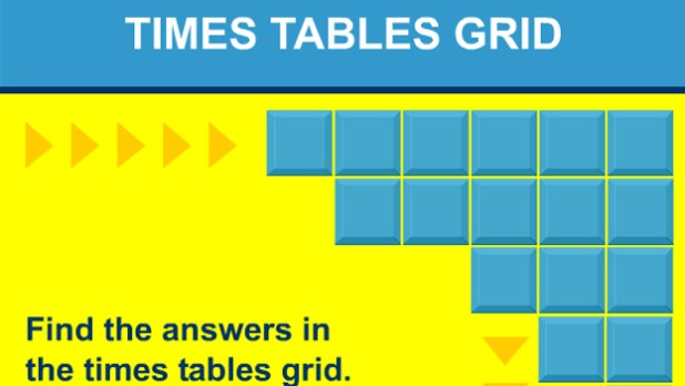 Click To Play Times Tables Grid Game