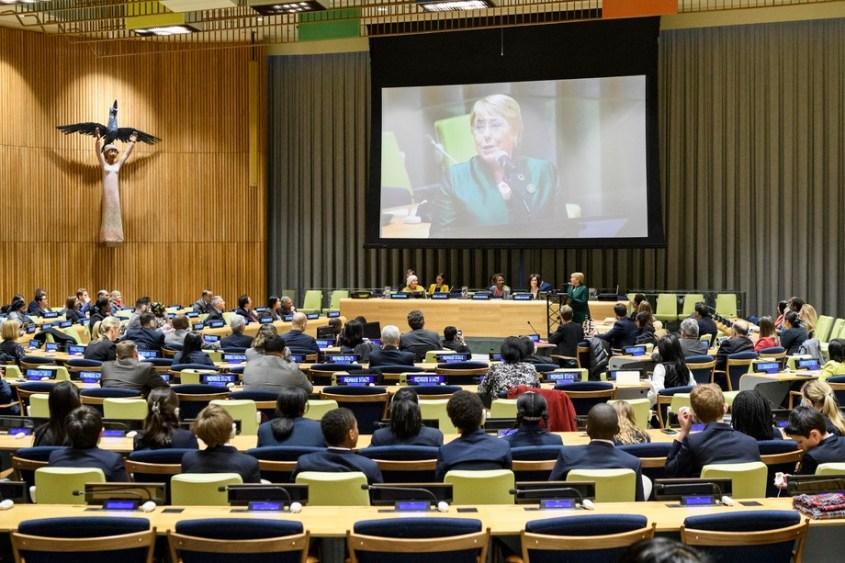 Michelle Bachelet Delivers Rafael M. Salas Memorial Lecture