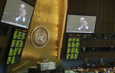 General Assembly Approves Global Arms Trade Treaty