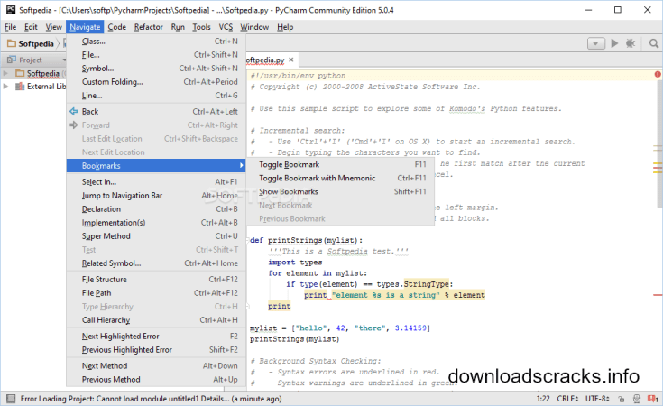 PyCharm Professional Edition 2018.3.4 Crack Download