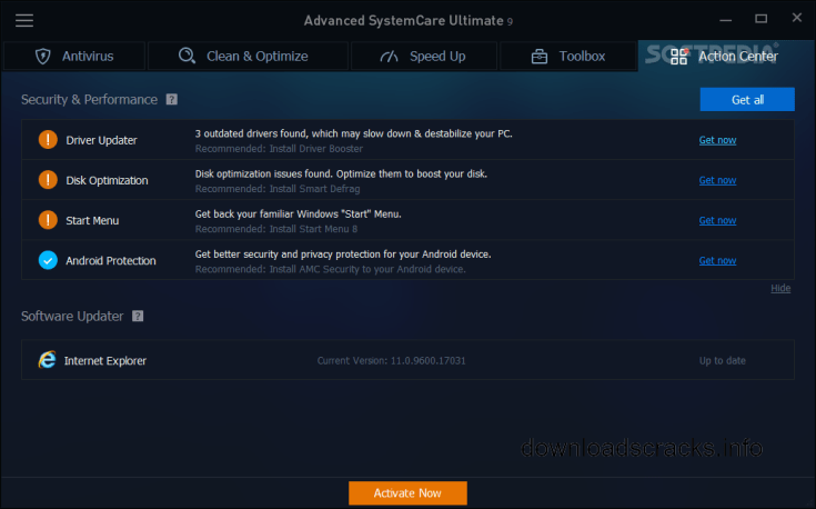 Advanced SystemCare Ultimate 12.1.0.119 Patch Download