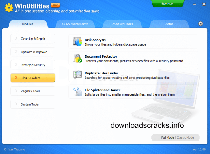 WinUtilities Professional Edition 15.52 With Plus Serial