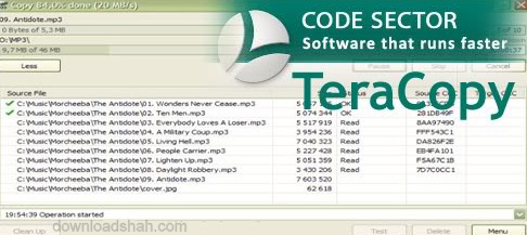 Download TeraCopy For Bossting Copy Paste Speed45465768787970