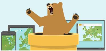 TunnelBear -free VPN for Windows 7