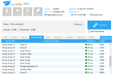 Download VPN free FlyVPN