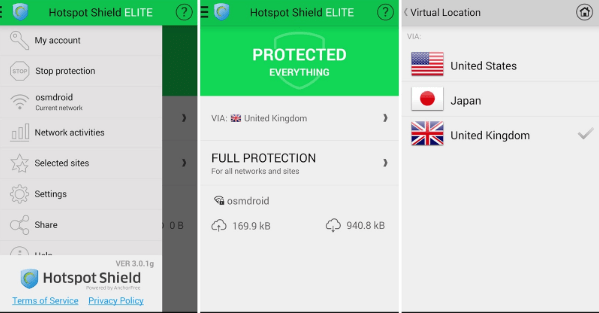 Download Hotspot Shield Elite apk