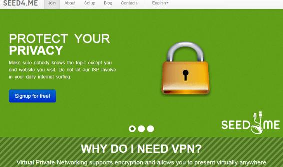 Free Seed4.Me VPN