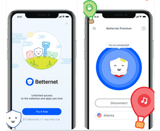 Download Free Betternet VPN  for Mac
