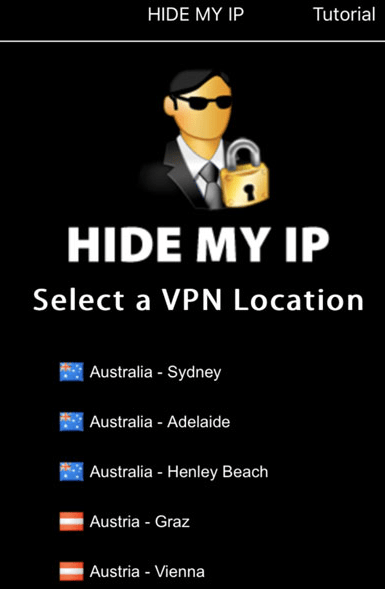 Hide My IP for iPhone free