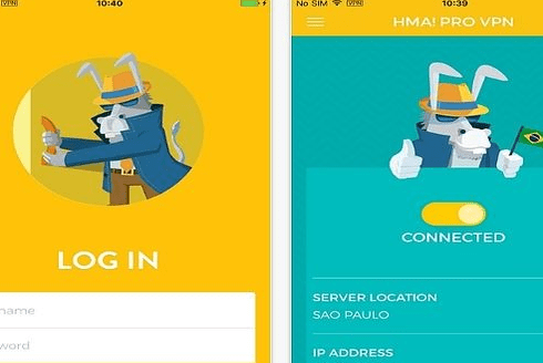 Hidemyass pro VPN for android