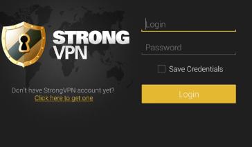 Free StrongVPN for Google Chrome