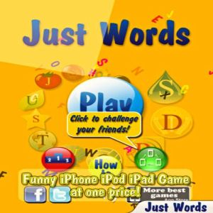 Just Words Game