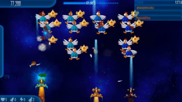 تحميل لعبة الفراخ 5 - تنزيل chiken invaders 5 - داونلوكس